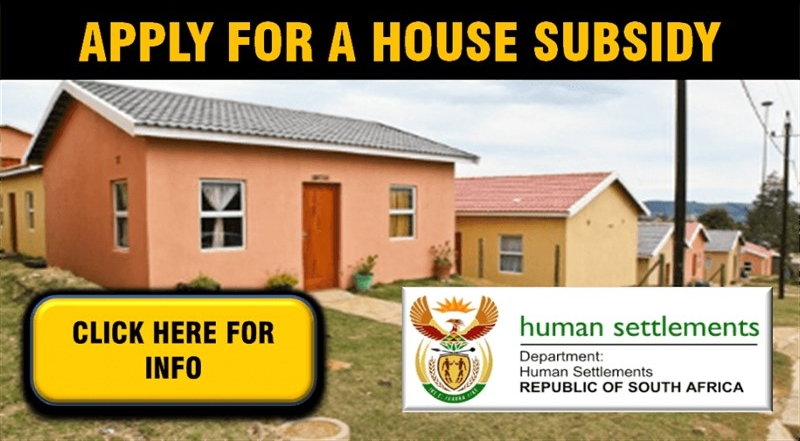 HOUSE SUBSIDIES: Applications in the non-metro area will be accepted