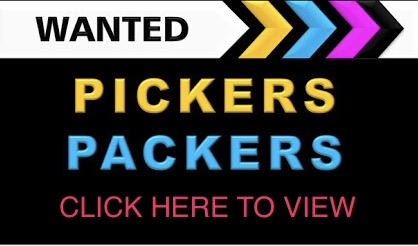 PICKERS & PACKERS CAPE TOWN R3 000 - R3 500pm (Neg) Permanent