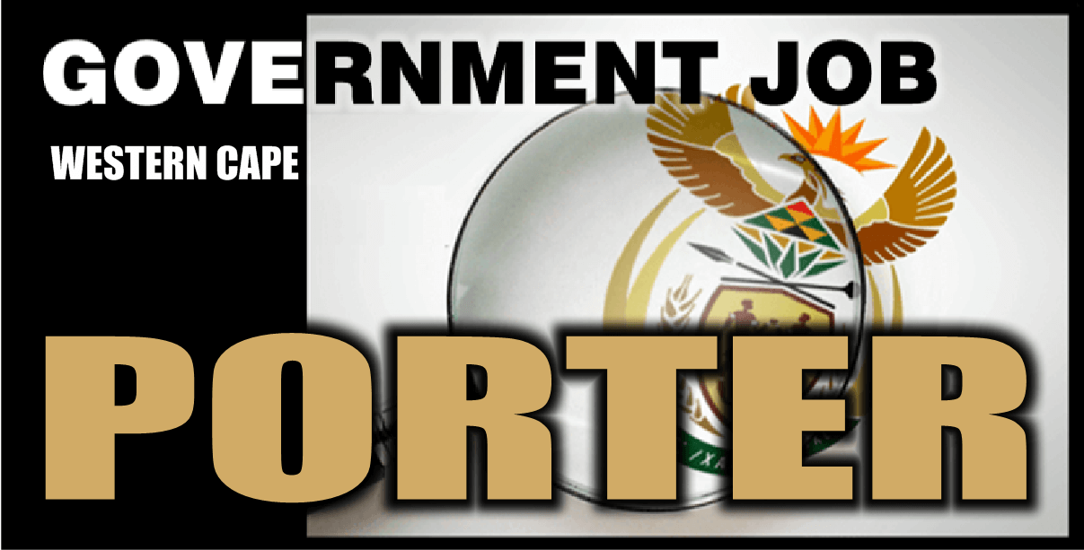 Cape Town - Post available for a Porter (Western Cape Rehabilitation Centre, Mitchell's Plain)
